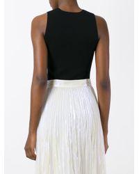 A.L.C. - Black Laced Bodysuit - Lyst