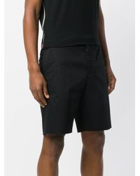 Prada - Black Classic Bermuda Shorts for Men - Lyst