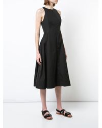 Protagonist - Black Shaped Bodice Dress - Lyst