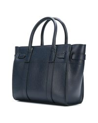 Mulberry - Blue Bayswater Tote Bag - Lyst
