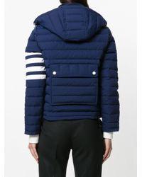 Thom Browne - Blue Padded Jacket - Lyst