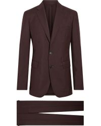 Burberry - Pink Soho Fit Puppytooth Wool Mohair Suit for Men - Lyst