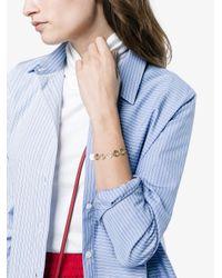 Fendi - Metallic Logo Chain Bracelet - Lyst