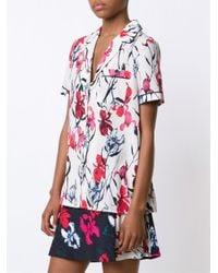 Thakoon - Pink Floral Print Pyjama Top - Lyst