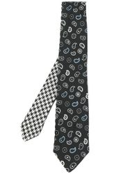 Etro - Multicolor Embroidered Tie for Men - Lyst