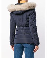 Peuterey Blue Padded Tassel Jacket