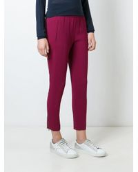 Stella McCartney - Pink 'tamara' Trousers - Lyst