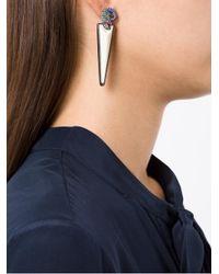 Camila Klein - Metallic Camaleão Earrings - Lyst