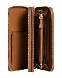 Burberry - Brown Travel Wallet for Men - Lyst