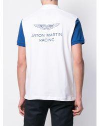 Polo Aston Martin Hackett de hombre de color White