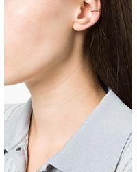 Anita Ko - Metallic Engraved Cuff Earring - Lyst