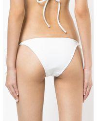 Matteau - White String Bikini Bottoms - Lyst