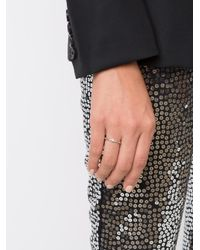 Henson - Metallic Gemstone Ring - Lyst