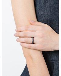 Rosa Maria - Metallic Studded Ring - Lyst