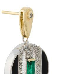 V Jewellery - Metallic Daphne Earrings - Lyst