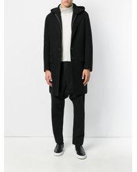 Isabel Benenato - Black Drop-crotch Trousers for Men - Lyst