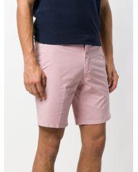 Dondup - Pink Bermuda Shorts for Men - Lyst