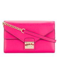 MICHAEL Michael Kors Pink Sloan Chain Wallet