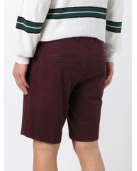 AMI - Purple Bermuda Shorts for Men - Lyst