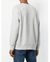 Levi's | Gray Logo Detail Sweatshirt for Men | Lyst
