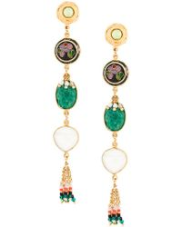 Gas Bijoux - Metallic Poeme Earrings - Lyst