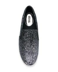 MICHAEL Michael Kors - Green Glitter Skate Shoes - Lyst