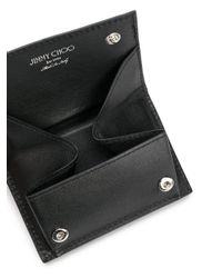 Jimmy Choo - Black Bolton Leather Wallet for Men - Lyst