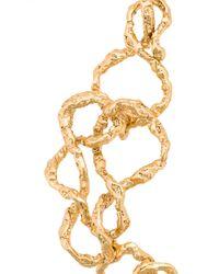 Oscar de la Renta - Metallic Entangled Necklace - Lyst