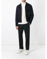 KENZO - Black Straight-leg Trousers for Men - Lyst