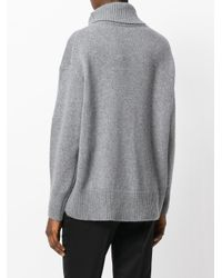 Joseph - Gray Turtleneck Jumper - Lyst