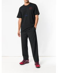OAMC Black Loose Fitted Trousers for men