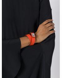 Givenchy | Orange 'shark' Bracelet | Lyst