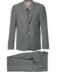 Thom Browne Gray Formal Suit for men