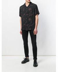 Represent - Black Floral Print Shirt for Men - Lyst