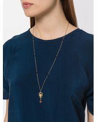 Iosselliani - Metallic Puro Satyr Long Necklace - Lyst