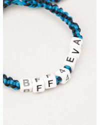 Venessa Arizaga - Blue 'bff4eva' Bracelet - Lyst