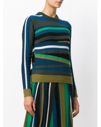 KENZO - Multicolor Broken Stripes Jumper - Lyst