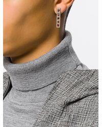 Parts Of 4 - Metallic Garnet Drop Earring - Lyst