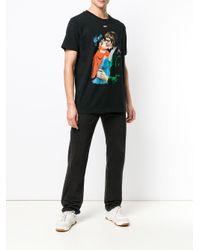 Off-White c/o Virgil Abloh - Black T-shirt Kiss à imprimé graphique for Men - Lyst