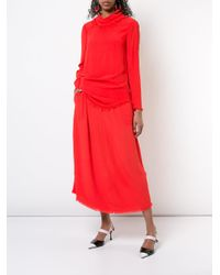 Raquel Allegra - Red Bandana Top - Lyst