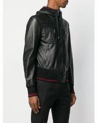 Chaqueta con capucha Dolce & Gabbana de hombre de color Black