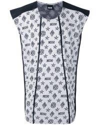 KTZ | Black Monogram T-shirt for Men | Lyst
