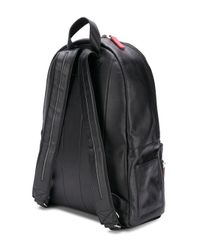Orciani - Black Contrast Zip Backpack for Men - Lyst