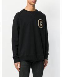 Calvin Klein Jeans - Black Casual Loose Sweatshirt for Men - Lyst