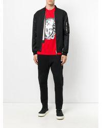 Versace - Red Medusa Print T-shirt for Men - Lyst