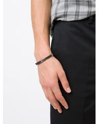M. Cohen - Metallic 'mini Cheval De Frise' Bracelet for Men - Lyst