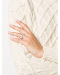 Wouters & Hendrix - Metallic A Wild Original! Statement Chunky Chain Ring - Lyst