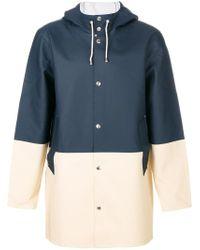 Stutterheim | Blue Stockholm Coat for Men | Lyst