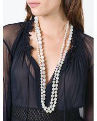 Rosantica - White 'lun' Necklace - Lyst