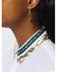 Pamela Love - Metallic Beaumont Lapis Earrings - Lyst